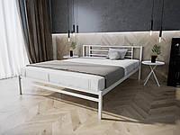 Кровать MELBI Берта Двуспальная 140190 см Белый КМ-023-02-7бел, КОД: 1394043
