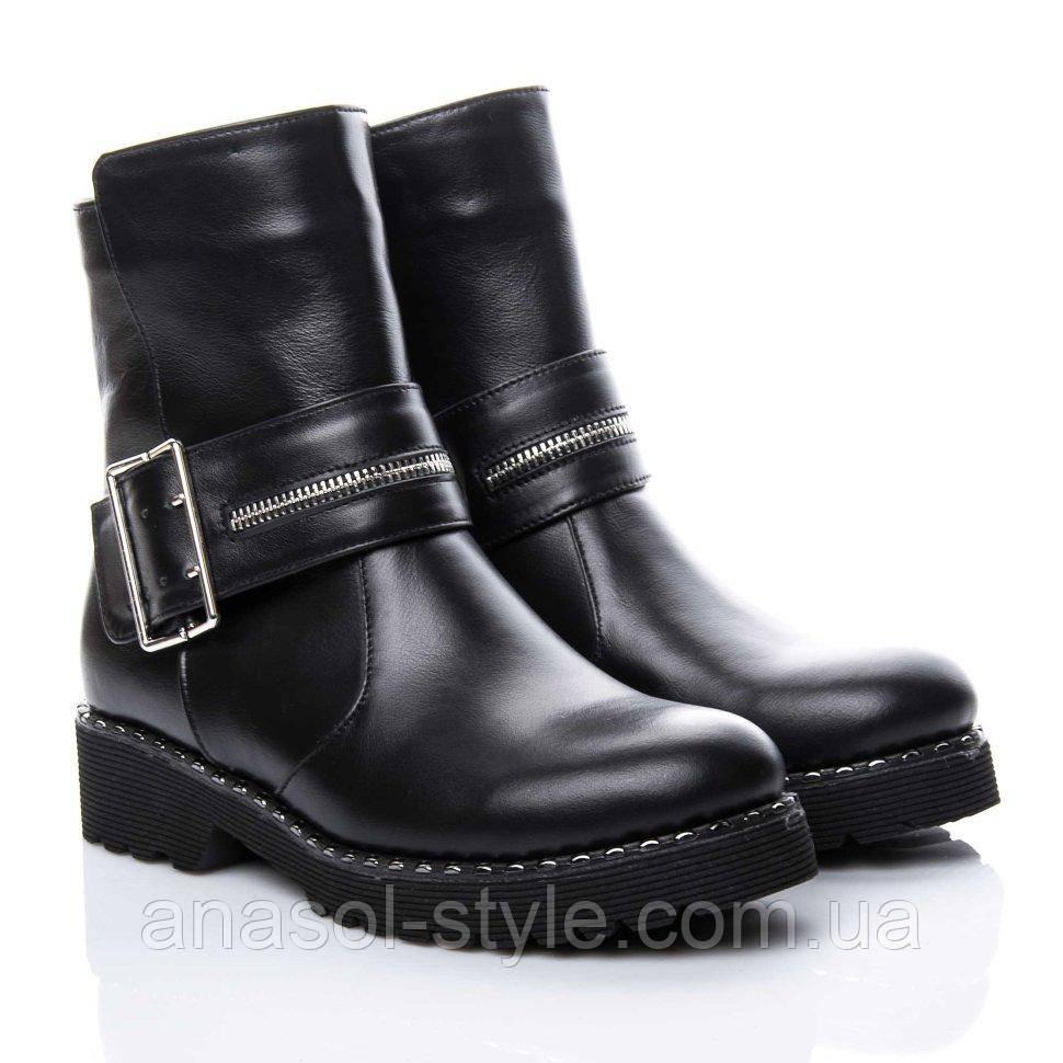 Ботинки La Rose 2160 36(24,5см) Черная кожа