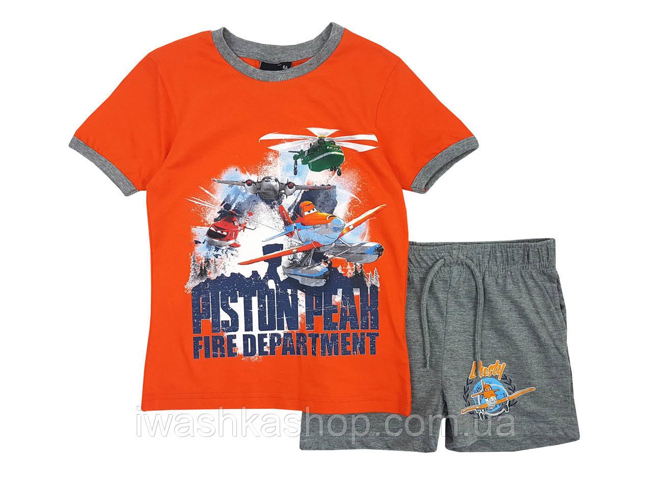 Летний костюм Самолеты на мальчика 3 лет, р. 94, Disney / Planes