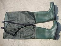Болотные сапоги к поясу (Вейдерсы) Lemigo Wodery 989 Коричнивые (размер 44)