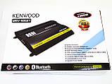 Автомобільний підсилювач звуку Kenwood MRV-905BT + USB 4200Вт 4х канальний Bluetooth, фото 6
