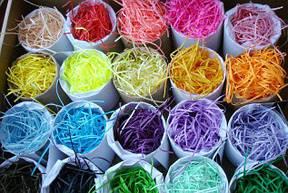Бумажный цветной декоративный наполнитель 4мм
