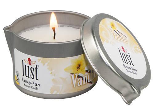 Массажная свеча - Lust Massage-Kerze Vanille, 50 мл, фото 2