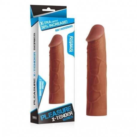 Насадка на член - Pleasure X-Tender Penis Sleeve, фото 2