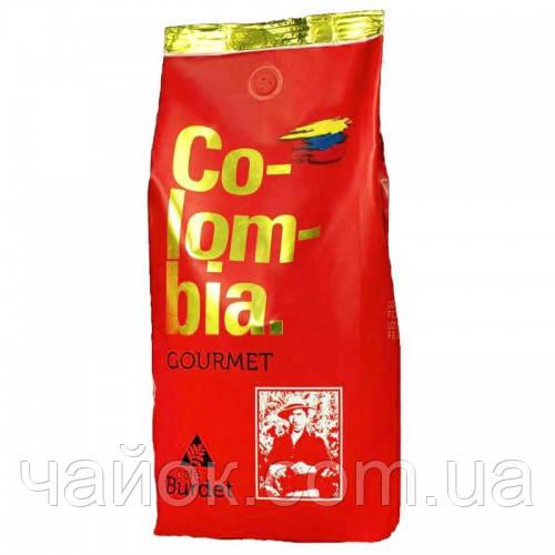 Кофе  BURDET COLOMBIA GOURMET  в зернах 1 кг