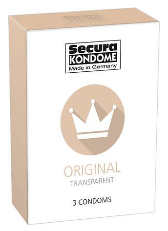 Презервативы - Secura Original, 3 шт., фото 2