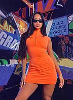 """Короткое платье в спортивном стиле """"Zora"""" без рукавов (4 цвета)"""