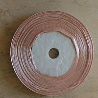 Лента атласная цвет №107(кофе с молоком) шириной 0,6 см