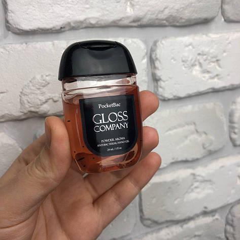 Антисептик для рук City-A Gloss Powder Aroma Пудровый запах Санитайзер 29 мл Розовый, фото 2