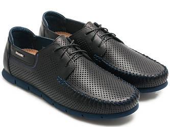 Мужские мокасины на шнурками Davis