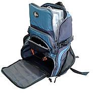 Рюкзак рыбацкий для снастей Ranger bag 5  2 отделения + 4 контейнера + футляр для очков