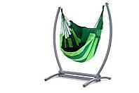 Подвесное кресло WCG гамак + каркас XL Зеленый (WCGCHAG)