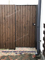 Профнастил под ДЕРЕВО орех Киев, профлист под дерево орех цена, фото 1