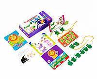 Игра с пуговицами Vladi Toys Пальчики считай для самых маленьких (VT2905-08)