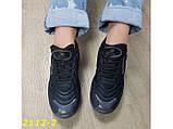 Кроссовки аирмаксы черные на амортизаторах силиконовой подушке 38 р. (2112-2), фото 4
