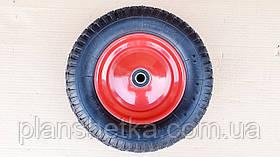 Колесо до тачки 3.50-8 вісь 20 мм не розбірні игольчастый підшипник 204, фото 2