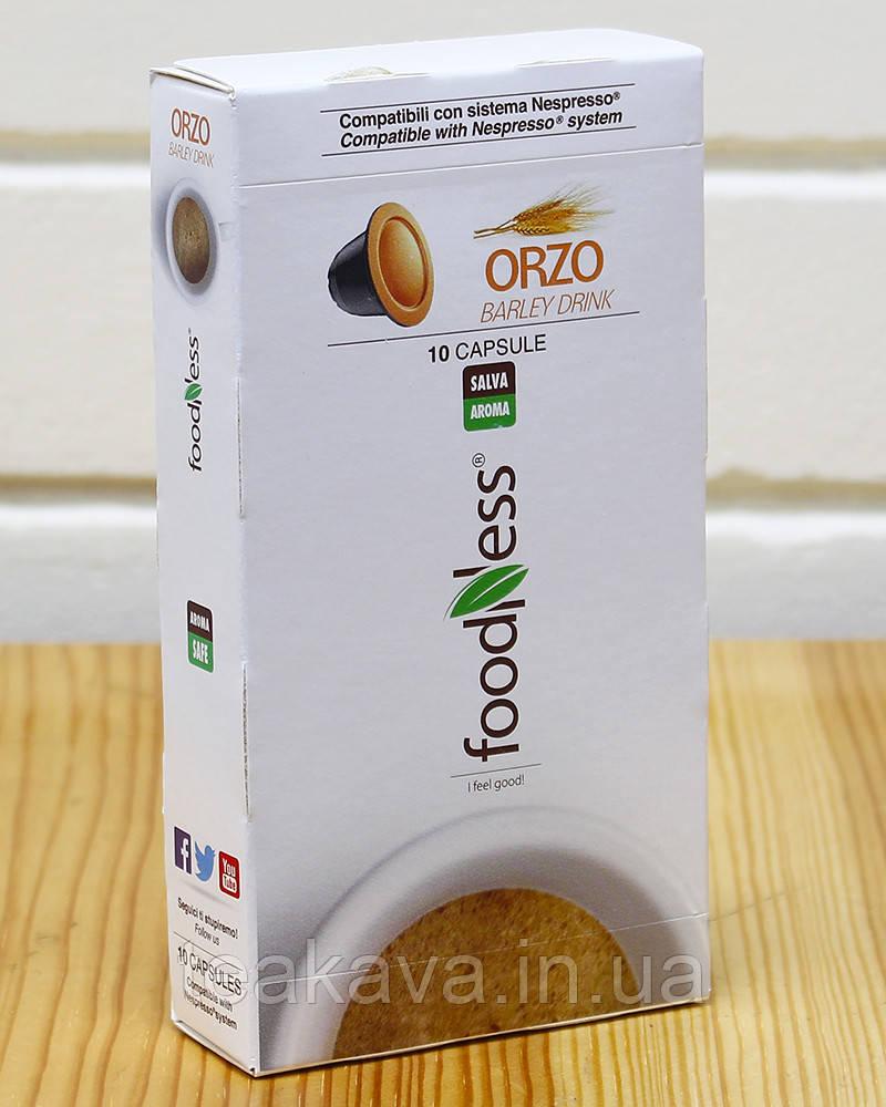 Капсулы ячменного кофе NESPRESSO Foodness (2 г*10 шт), 20 грамм (Италия)