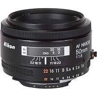 Объектив Nikkor AF 50mm f/1.8D Nikon (JAA013DA)