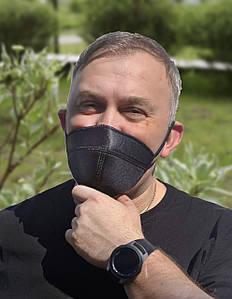 Тканевая  хлопковая многоразовая маска