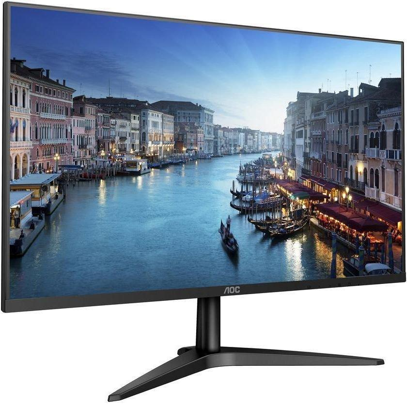 "Монитор 27"" AOC 27B1H черный IPS LED 7ms 16:9 HDMI матовая 1000:1 250cd 178гр/178гр 1920x1080 D-Sub FHD"