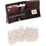 Дистанційні хрестики для плитки 4,0 мм FASTER TOOLS, фото 2