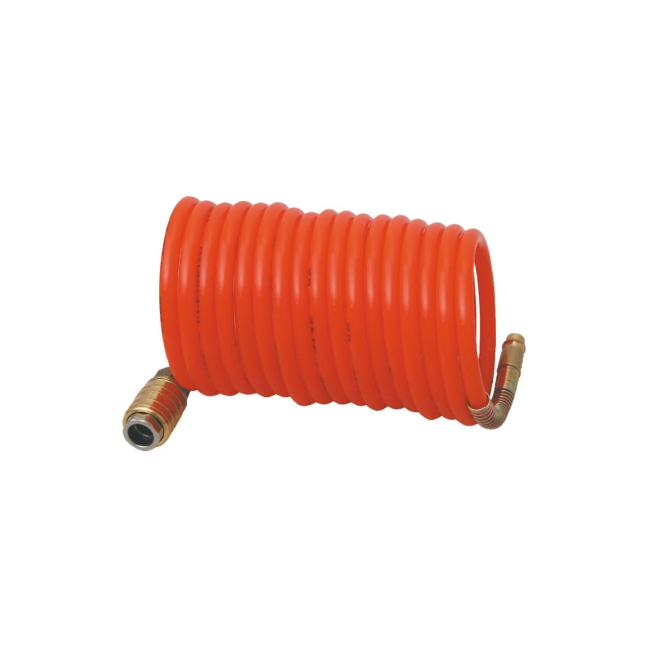 Пневмо-шланг спіральний 8х10 мм, довжина 15 м  FASTER TOOLS
