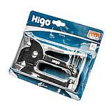 Степлер металевий 4-8 мм HIGO, фото 2