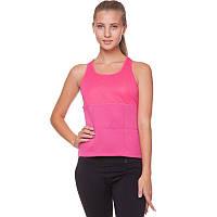 Майка для похудения Zelart, неопрен, полиэстер, сетка, p-p S-XL-42-48, розовый (FI-4818-(pnk))
