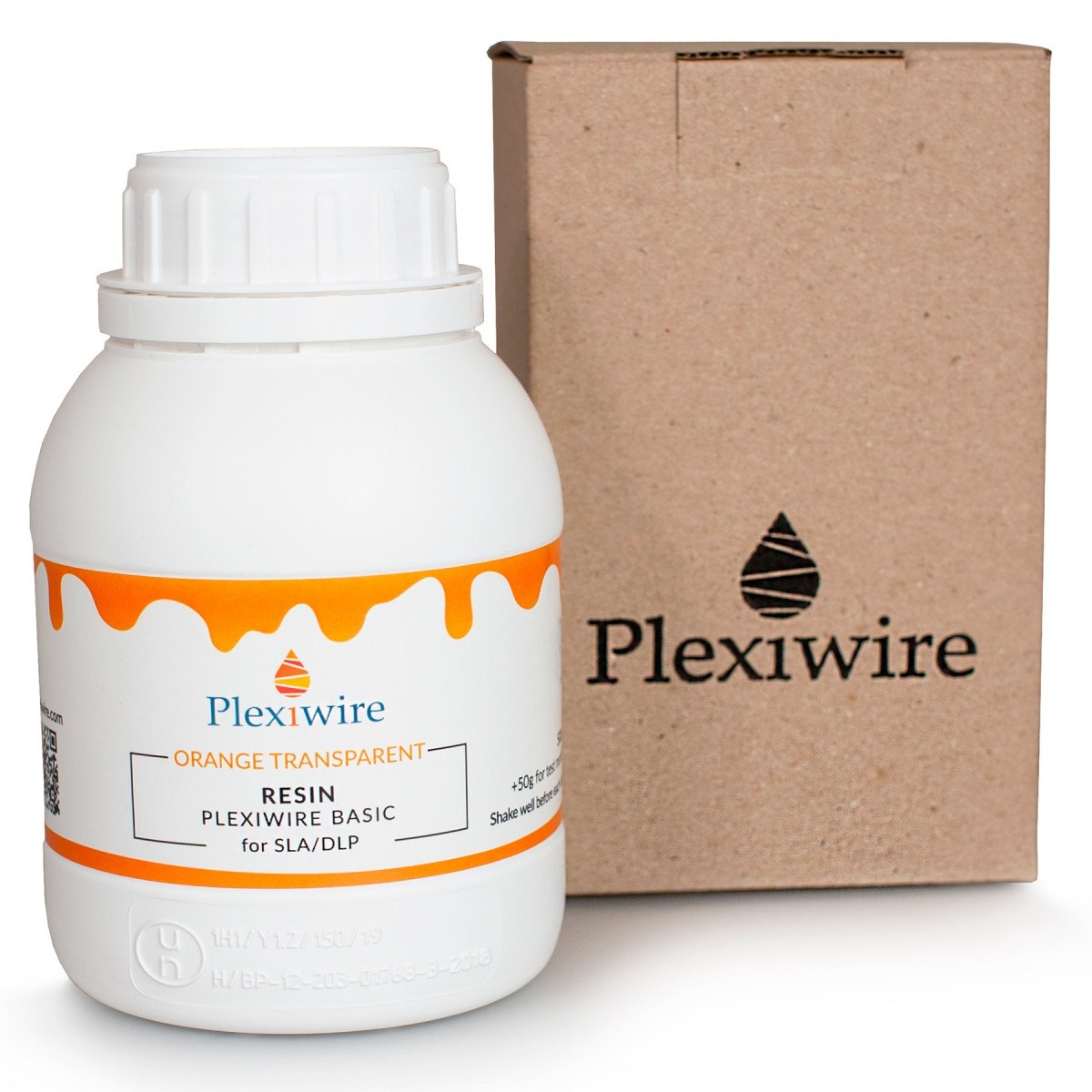 Фотополимерная смола Plexiwire resin basic 0.5 кг напівпрозорий оранжевий