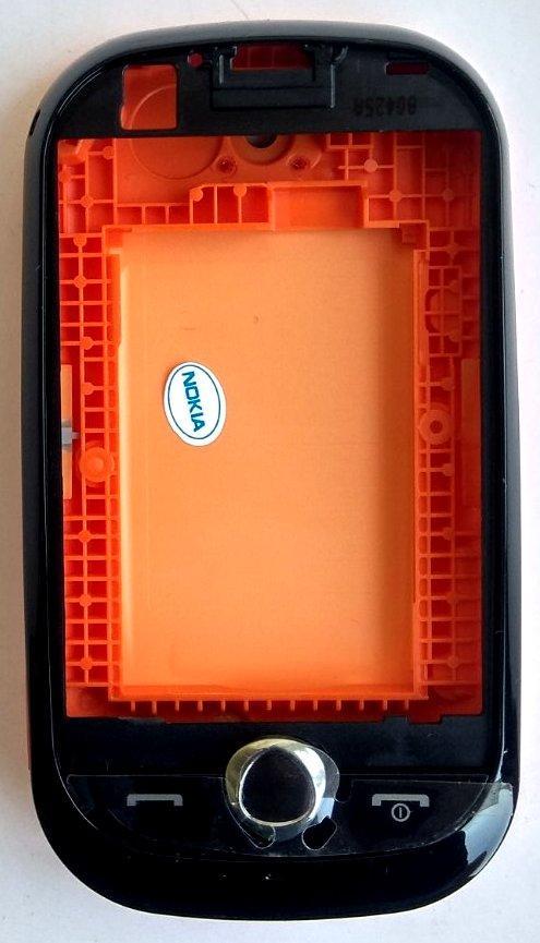 Корпус для Samsung S3650 Corby Black&Orange