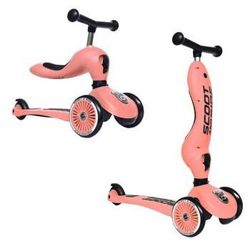 Scoot & Ride Highwaykick 1 2w1 Peach 96353