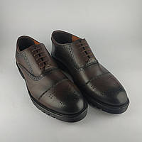 Мужские коричневые кожаные Erdo туфли
