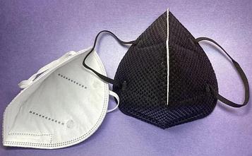 Многоразовая маска для лица, 1 шт (цвет чёрный)