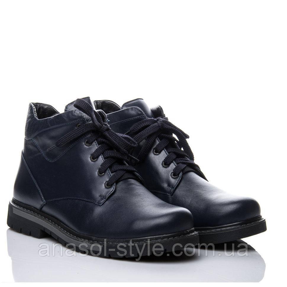 Ботинки La Rose 1057 40( 26,5см ) Синяя кожа