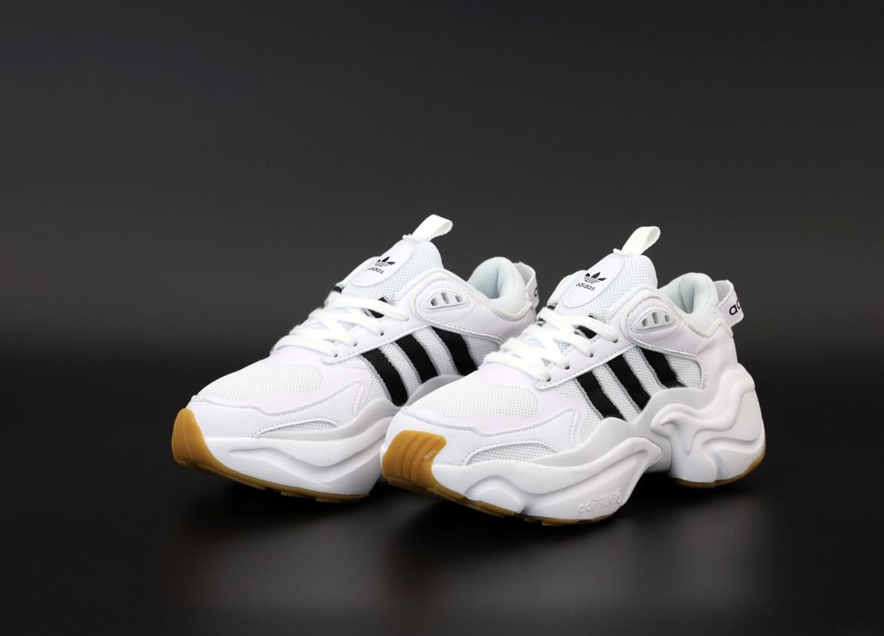 Женские белые Кроссовки Adidas Magmur