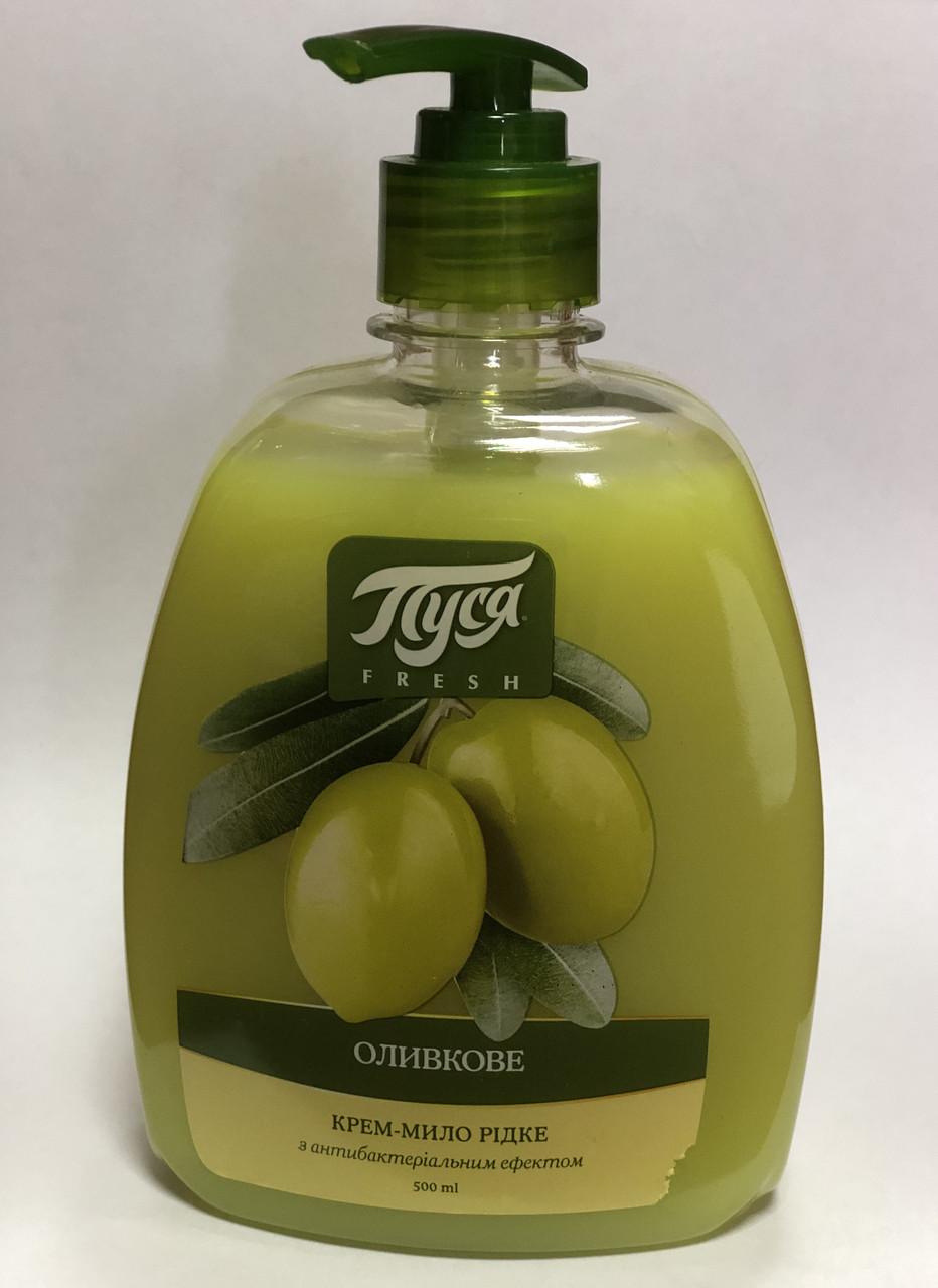 Антибактериальное Жидкое мыло «Оливка» Пуся