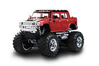 Машинка на радиоуправлении джип 1:43 Great Wall Toys Hummer (красный)