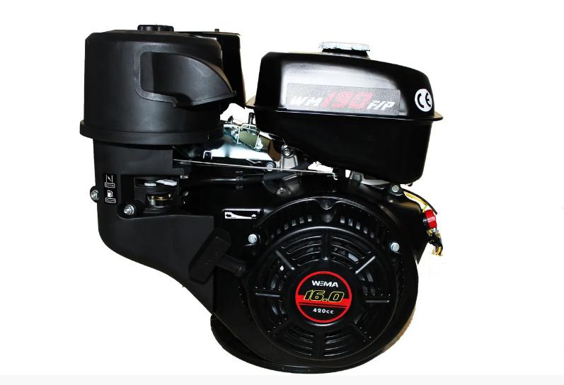 Двигатель бензиновый Weima WM190F-S (CL) (центробежное сцепление, шпонка, 25 мм, 16 л.с.)