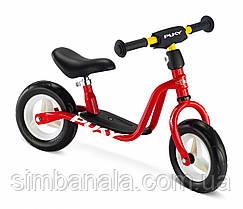 Детский двухколесный велобег(беговел) Puky LR M(красный), Германия