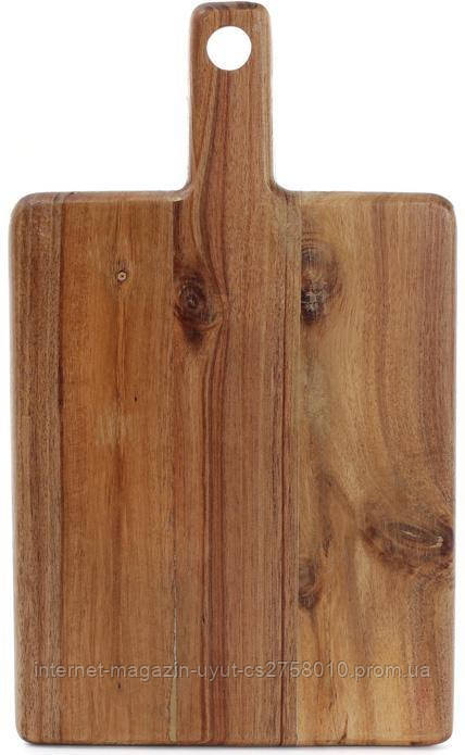 Доска разделочная Naturel 37х22х2см, деревянная (акация)