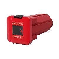 Ящик для огнетушителя SLIDEN, Daken (Италия) 309x324x750, пластик