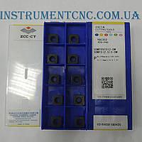 ZCC-CT SDMT09T312-DM YBC302 сменная твердосплавная пластина по металлу квадратная получистовая