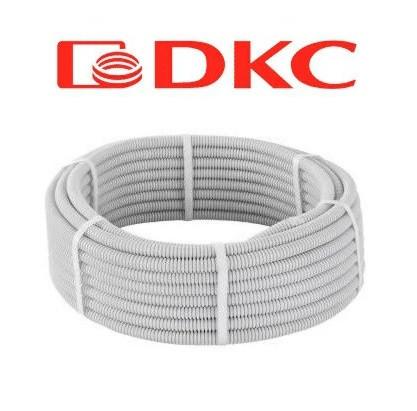 Труба гофрированная с протяжкой DKC Light диам. 16 мм (бухта 100 м)