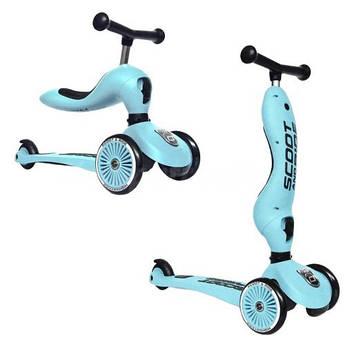 Scoot & Ride Highwaykick 1 2w1 Blueberry 96352