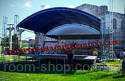 Изготовление сборно-разборные сцены (подиумы, сценічні конструкції) размер 6х8, фото 2