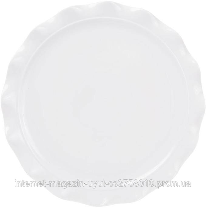 """Набор 2 блюд """"White City"""" для пиццы Ø36см (белый фарфор)"""