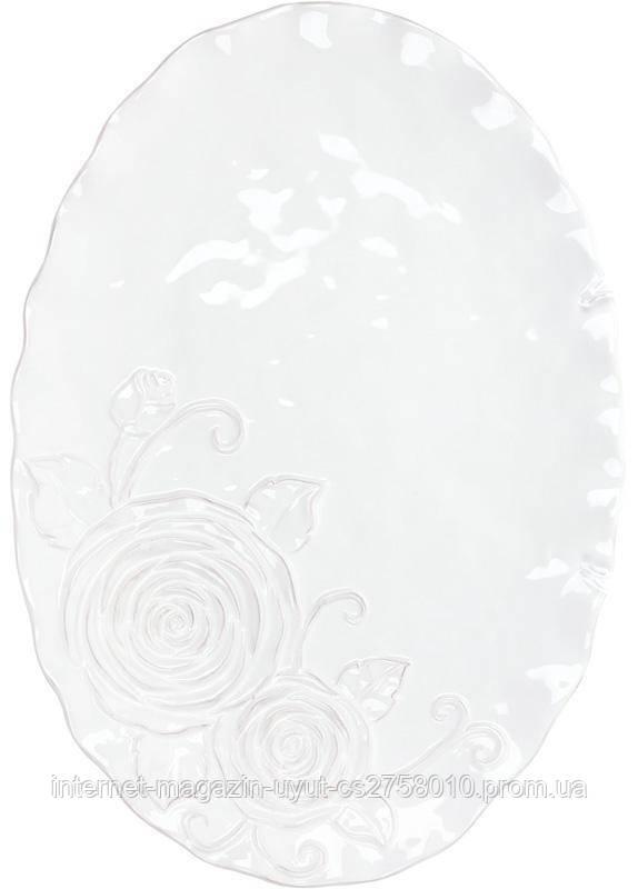 Набор 2 блюдо сервировочное Аэлита 41.1х28.5х2.8см овальное, керамика