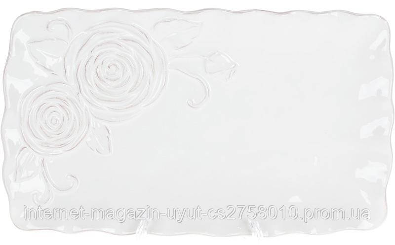 Набор 3 блюдо сервировочное Аэлита 31.7х18.5х2.8см прямоугольное, керамика
