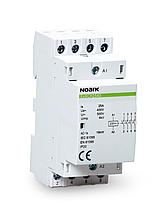 Модульний контактор, Noark (Чехія) Ex9CH25 22 220/230V 50/60Hz. 25 A, котушка 220/230 V, 2 NC + 2 NO