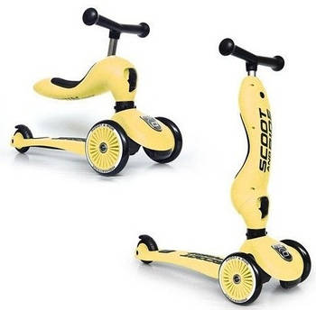 Scoot & Ride Highwaykick 1 2w1 Lemon 96354